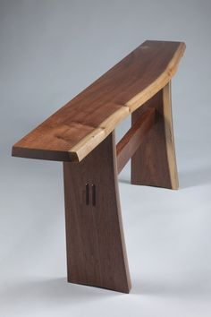 Console table for entry? Custom Walnut Hall Table by Andy Rae