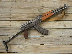Balkan Build. Bastard rifle made from Romanian, Yugoslavian, and Bulgarian parts. Complete with bullet hole magazine.