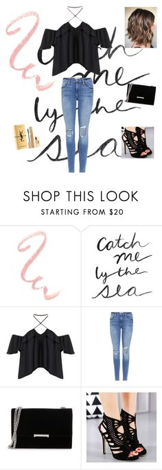 """Pretty Little Liar"" by christineg0706 ❤ liked on Polyvore featuring Frame, Ivanka Trump and Yves Saint Laurent"