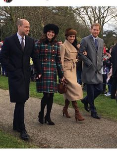 .William . Catherine . Meghan . Harry.