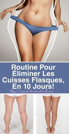 Routine to eliminate flasque thighs, in 10 days! Weight Loss For Women, Best Weight Loss, Weight Loss Tips, Lose Weight, Body Challenge, Workout Challenge, Keep Fit, At Home Workouts, Routine