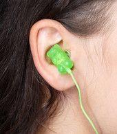 Scented Gummi Bear Earbuds 16 Year Old, Gummy Bears, Childhood, Cool Stuff, My Love, Kids, Headphones, Tech, Glitter