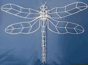 dragonfly topiary frame