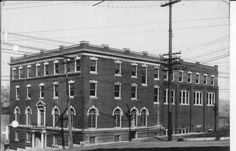 The Alton Young Men's Christian Association began in 1883. The members used various meeting places until 1907, when an elaborate new facility was completed at the corner of Third and Market Streets. Fire gutted the building in 1914, but it was renovated and expanded in 1915.