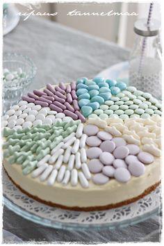 ripaus tunnelmaa: huvipuisto synttärit Pretty Cakes, Cute Cakes, Yummy Cakes, Just Eat It, Piece Of Cakes, Food Art, Kids Meals, Caramel, Bakery