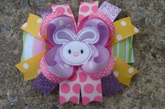 Hey, I found this really awesome Etsy listing at http://www.etsy.com/listing/94481389/easter-hair-bow-easter-bunny-hair-bow