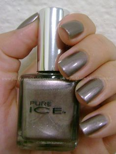 Pure Ice Risk Taker... thinking I like this as a fun /neutral color!