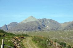 A magnificent mountain to climb, An Teallach - possibly the most impressive in Britain! Near Dundonnell in Ross and Cromarty. Cromarty, Scottish Mountains, Wester Ross, Cairngorms National Park, Scottish Highlands, B & B, Wonderful Places, Climbing, Britain