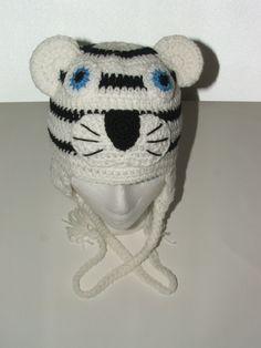 White Tiger Crochet Pattern Free : 1000+ images about crochet head on Pinterest Earmuffs ...