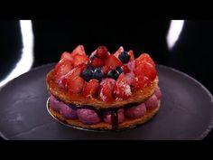 Feuilleté aux fruits rouges