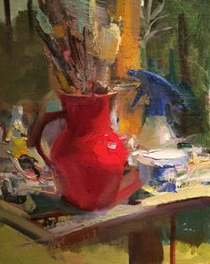 A Painter's Tools by Leslie Belloso