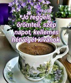Good Morning, Tea Cups, Mugs, Tableware, Buen Dia, Dinnerware, Bonjour, Tumblers, Tablewares