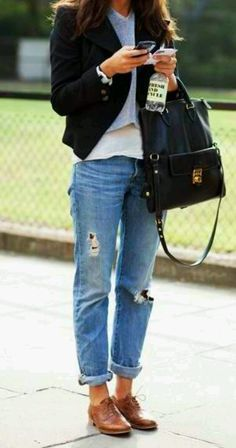 street style, how to wear oxfords, my style inspiration for tomorrow.