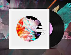 """Check out new work on my @Behance portfolio: """"Glitch Record Cover Concept"""" http://be.net/gallery/38641259/Glitch-Record-Cover-Concept"""
