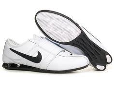 the latest 35bd8 2b397 Shox Nike Shox Velcro White Black  Nike Shox - Your go-everywhere shoes.  The sleek Nike Shox Velcro White Black sneakers are a slim design with a  wide ...