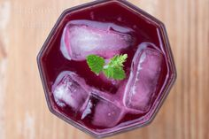 chokeberry drink