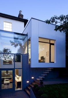 Cut + Fold House in London by Ashton Porter Architects