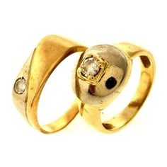 14kt Gold Rings, 2 Rings http://www.propertyroom.com/l/14kt-gold-rings-2-rings/9686475