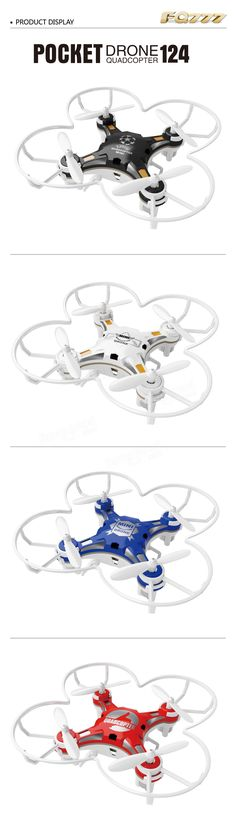 FQ777-124 Pocket Drone 4CH 6Axis Gyro Quadcopter With Switchable Controller RTF Sale - Banggood.com - Looking for a 'Quadcopter'? Get your first quadcopter today. TOP Rated Quadcopters has Beginner, Racing, Aerial Photography, Auto Follow Quadcopters and FPV Goggles, plus video reviews and more. => http://topratedquadcopters.com <== #electronics #technology #quadcopters #drones #autofollowdrones #dronephotography #dronegear #racingdrones #beginnerdrones