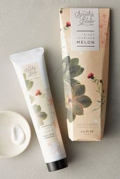 Shop the sprinkle & bloom hand cream and more anthropologie at anth Bottle Packaging, Soap Packaging, Print Packaging, Packaging Design, Branding Design, Product Packaging, Skincare Packaging, Beauty Packaging, Cosmetic Packaging