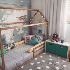 55 Best Montessori Bedroom Design For Happy Kids 007