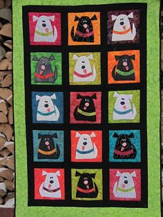 Malaya's Quilt - dogs