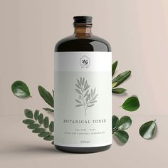 Simple packaging label with light linear illustrat. - - Trend Home Design Ideen 2019 Bottle Packaging, Cosmetic Packaging, Beauty Packaging, Brand Packaging, Design Packaging, Luxury Packaging, Product Packaging, Product Branding, Product Labels