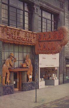 History 101 with Davinci the Detroit dog; The Brass Rail - Detroit, Michigan
