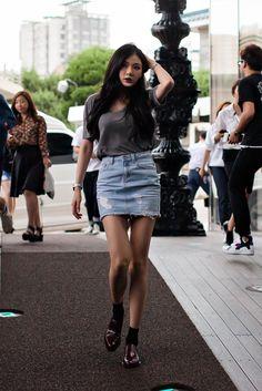 On the street... Hyuna Kim Seoul X Steve J & Yoni P | echeveau