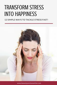 Discover how to transform crippling stress and anxiety into happiness!