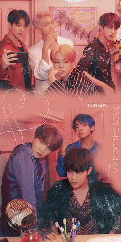 BTS Wallpapers Map of The Soul: Persona Concept Photo/Wallpaper Bts Wallpapers, Bts Backgrounds, Bts 2018, Foto Bts, Bts Bangtan Boy, Bts Jimin, Bts Memes, Jikook, Bts Group Photos