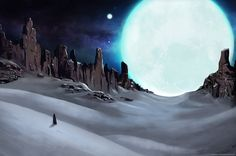 The Moonlight Calling by Francisco-Moraes on @deviantART