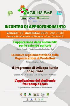 FOGLIE: Gal Ponte lama - L'applicazione della nuova Pac pe...