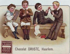 CHOCOLAT DROSTE BOYS AT SCHOOL | Flickr - Photo Sharing! School Images, Angels In Heaven, Calling Cards, Victorian Christmas, Vintage Ephemera, Vintage Children, Old World, Kawaii, Baseball Cards