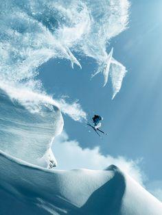 Snowsurfing