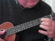 """12 BAR BLUES for the UKULELE - UKULELE LESSONS / TUTORIAL by """"UKULELE MIKE"""" - YouTube"""