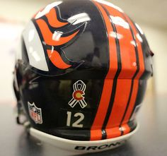 For the 2012 season, the #Broncos will wear a special helmet decal showing their support for the state of Colorado. http://twitpic.com/ashl8z