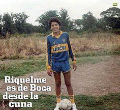 Juan Román Riquelme de niño!