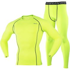 ARSUXEO 2016 Running T Shirt and Pants Men Compression Tights Underwear Sets Crossfit Bodybuilding Fitness Sport Jerseys Suit 35