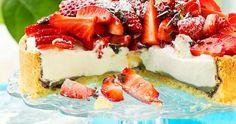 Ricotta, Fika, Lemon Curd, Dessert Recipes, Desserts, Bruschetta, Nom Nom, Cake Decorating, Cheesecake