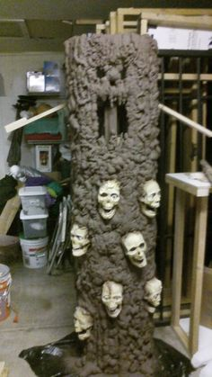 OMG I need to make this.  I just bought some spray foam... OMG.....