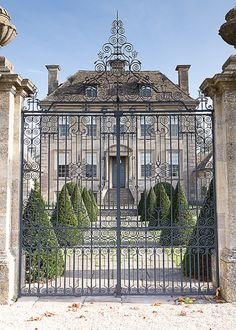 "classicalbritain: "" Nether Lypiatt Manor, Gloucestershire- England """