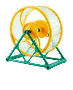 O Brinquedo Pet Funny Roda Gigante para Hamster com Suporte é um ótimo brinquedo para seu hamster ficar em forma e saúdavel.