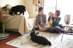 自宅でエンゲージメントフォト  (engagement photo)