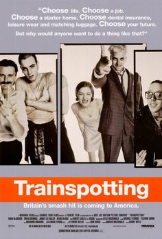 Trainspotting 27x40 Movie Poster 1996 Trainspotting Trainspotting Poster Streaming Movies