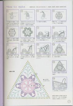 Decorazione triangolare