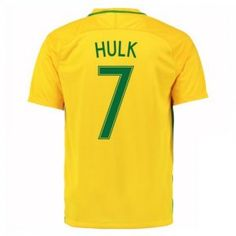 2016 Brazil Soccer Team Hulk 7 Home Replica Jersey 2016 Brazil Soccer Team Hulk 7 Home Soccer jerseys|cheap Brazil cheap soccer Jerseys soccer store [D993] - $22.99 : Cheap Soccer Jerseys,Cheap Football Shirts