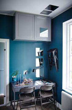Oculta tus platos y boles y evita que cojan polvo guardándolos en armarios cerrados junto al techo.