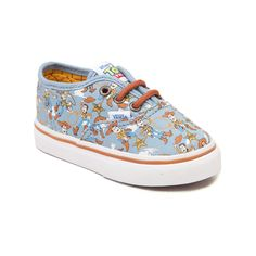 3eccb821d58c6a Toddler Vans Authentic Toy Story Woody Skate Shoe