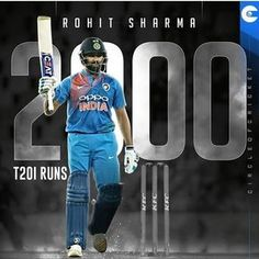 becomes the batsman to score 2000 runs. He is the second Indian after to reach the milestone. India Cricket Team, Cricket Wallpapers, Mumbai Indians, Background Images Wallpapers, Virat Kohli, To Reach, Scores, Two By Two, Running